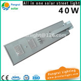 Sensor de movimento de LED de economia de energia 40W Outdoor Garden Solar Street Light