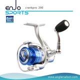 O giro novo/reparou o carretel do equipamento de pesca do carretel (PRO 200 aluídos)