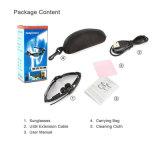 Gafas de sol al aire libre de los vidrios V4.1 Bluetooth con el receptor de cabeza del Mic Bluetooth