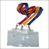 PVC/PP締縄のための引き込み式ID/Nameのカードまたはバッジホールダー