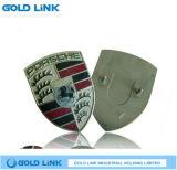 Émaillage Metal Lapel Pin Custom Badge Shield Plateau de sein