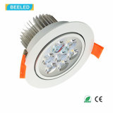 L'alta qualità 7W raffredda l'indicatore luminoso bianco Dimmable LED Downlight del punto