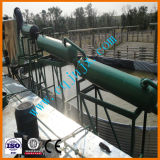 Het gebruikte Recycling van de Olie van de Motor van de Motor aan de Lichte Regeneratie van de Diesel