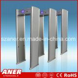 Caminhada elevada da sensibilidade do fabricante de China através da porta com 16 zonas