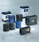 Regulador de voltaje de panel solar PWM Regulador de carga solar 50A con LCD