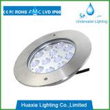 Indicatore luminoso subacqueo della fontana del raggruppamento messo 36watt di IP68 RGB LED