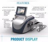 Máquina ardiente gorda de Lipolaser RF 650nm Lipo de la longitud de onda dual ultrasónica del laser de B0505