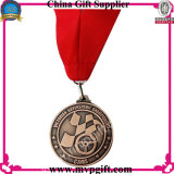 トロフィメダル版のギフトのための金属メダル