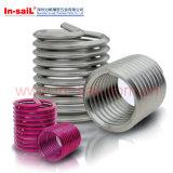 Оптовый ремонт резьбы нержавеющего провода вводит алюминиевое изготовление Китай