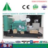 тепловозный комплект генератора 500kVA приведенный в действие Cummins