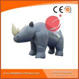 Mascotte gonfiabile C1-215 del fumetto di rinoceronte