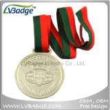 3D金の銀の青銅のスポーツメダルをカスタム設計しなさい