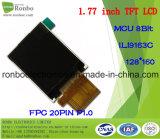 """1.77 """"Display LCD 128x160 MCU TFT, Ili9163c / St7735s, 20pin per campanello, medico"""