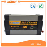 Carregador de bateria inteligente da indicação digital de Suoer 12V 30A (MDC-1230A)