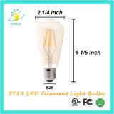 Stoele St48 6W E26 Tawny LED Birnenedison-Lampe