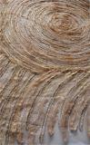 Tessuto operato del merletto della maglia con ricamo per l'indumento