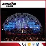 Braguero de aluminio de la iluminación del acontecimiento al aire libre, braguero de la etapa de la azotea del concierto