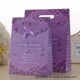 De Zak van de Gift van het document met de Druk van de Lavendel
