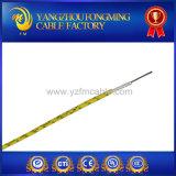 cabo UL5128 trançado isolado mica da fibra de vidro de 18AWG 450deg c