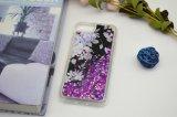 Аргументы за Samsung яркия блеска Sparkle случая телефона Bling метеорного потока жидкостные