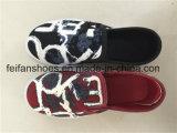 子供の運動キャンバスの注入の靴、子供の履物の靴、卸し売り靴(FFZL1031-02)