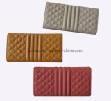 2017 최신 디자인 바느질 지갑 또는 숙녀 Purse