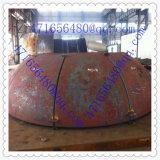 Cabeza de titanio tanque de recipientes a presión