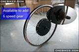 kit del motore del mozzo di rotella posteriore di 48V 1500W 26 '' per la bici elettrica