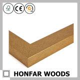 Marco de madera natural para la decoración casera