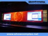 Höhe erneuern Kinetik der farbenreichen Innenvideodarstellung mit dünnem Panel (500mm*500mm/500mm*1000mm pH3.91)