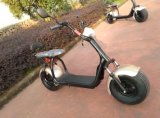 Самокат с 1000W, 60V/20ah литий Harley электрический, удары F/R