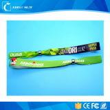 Браслет ткани замка двери RFID части клуба сплетенный Wristband для празднества случаев нот