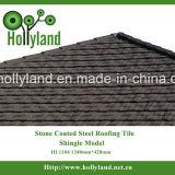 Strato d'acciaio del tetto con la pietra ricoperta (assicella)