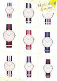 Relógio do movimento de Japão do relógio de pulso do Natal do relógio do estilo de Dw (DC-SZ124)