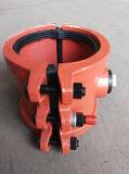 Отремонтируйте струбцину, ворот ремонта, ворот заключения, Split ворот для пластичной трубы P160X200, он-лайн ремонта утечки