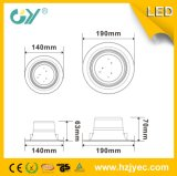 Curso de la vida largo SMD2835 3W 5W 7W 9W LED Downlight
