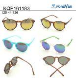 Type rond de Hotsale de lunettes de soleil d'enfants du bâti Kqp161183