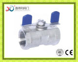 Il PC della fabbrica 1 della Cina ha avvitato il certificato del Ce della valvola a sfera dell'estremità 1000wog