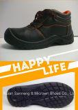 Sapatas de segurança industriais de Contruction do CE com o tampão de aço do dedo do pé e o Midsole Sn1206