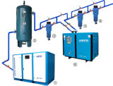 75 système d'air comprimé du kilowatt 8bar 450 Cfm