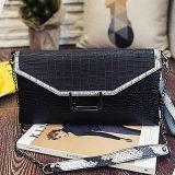 2016년 디자이너 우아한 뱀 클러치 핸드백 뱀 지갑 봉투 어깨에 매는 가방 Sy7754