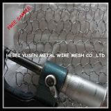 뜨개질을 하는 공기 가스 액체 철망사 보호