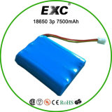 Rechargeable personalizzato Battery Pack 3.7V 7500mAh 1s4p con Wonderful Quality