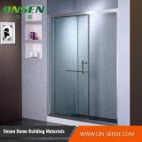 Quarto de chuveiro de alumínio da porta deslizante para o banheiro