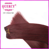 Capelli umani cambogiani colorati capelli di colore rosso di Remy del Virgin dei 2016 nuovi prodotti