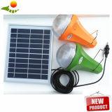 lampadine solari di 3PCS o di 2PCS LED, sistema di energia solare