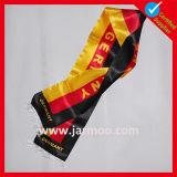 Sciarpa calda lavorata a maglia acrilica di calcio di gioco del calcio del ventilatore di inverno di 100%