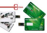 Cartões dos cartões de crédito do USB da movimentação do flash do USB da alta qualidade