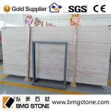 Wood bianco Marble Cut a Size Tiles