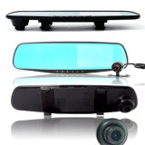 Caixa negra dupla H5 de Car DVR da visão noturna de Lens com 1080P HD 2.7 Inch Ultra-Thin Bluetooth Mirror e Video H. 264